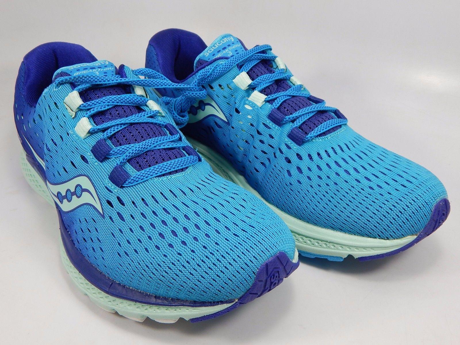 Saucony Breakthru 3 Women's Running Shoes Size US 8 M (B) EU 39 Blue S10358-1