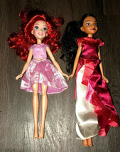 "Disney Ariel Royal Shimmer 2016 And Elena Of Avalon 2015 Hasbro 11"" Inch... - $16.83"