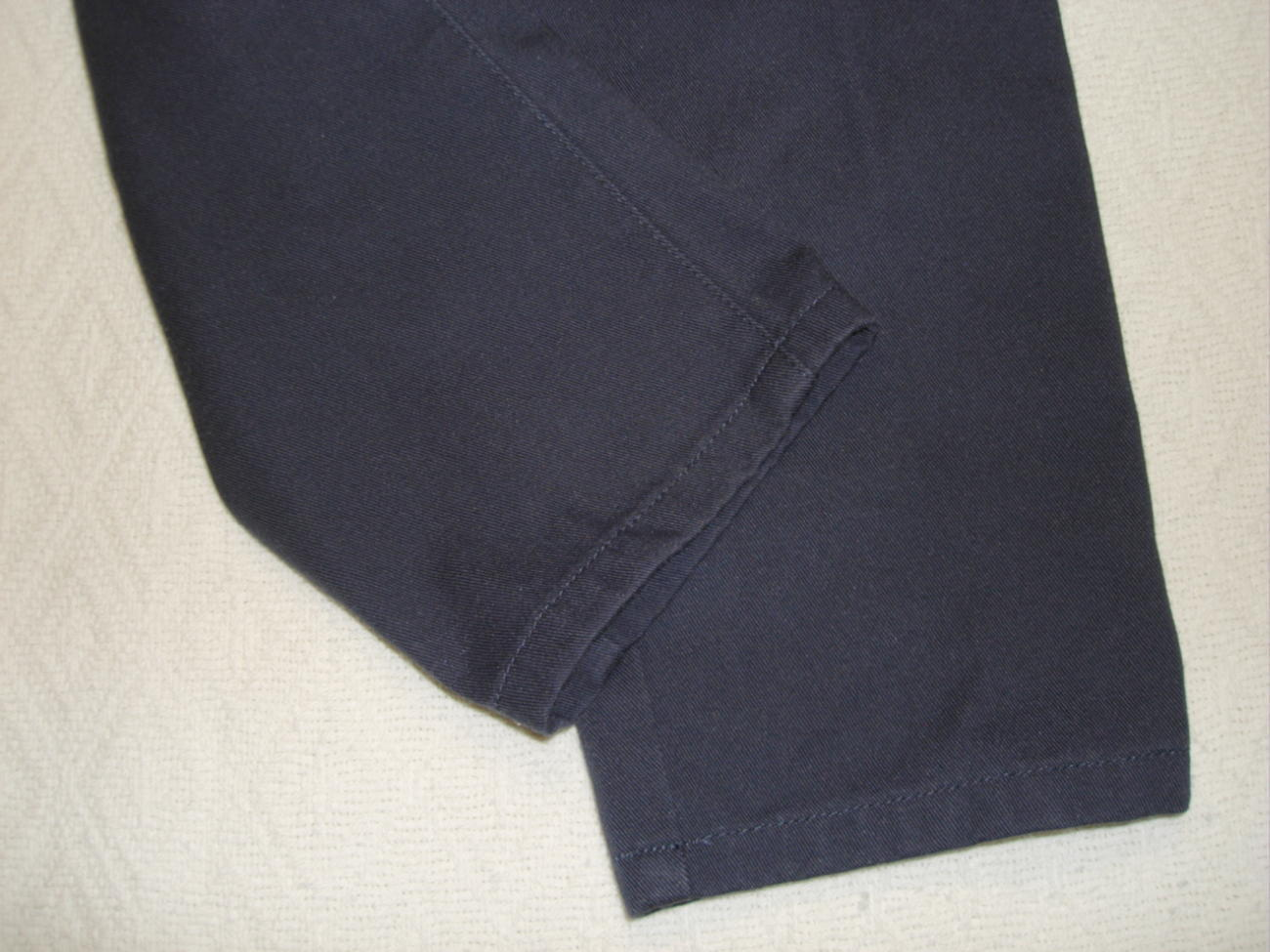 Bugle Boy Dress Pants Boys Kids Casual Navy Blue Size 4 Slim