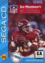 Joe Montana NFL Football Sega CD  Disk Only - $8.53