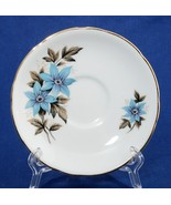 Royal Stafford Cheshire Blue Bonnet Saucer Bone China - $5.00