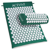 Acupuncture / Acupressure Yoga Mat With Pillow - $30.00
