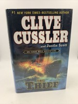 The Thief Firmado Por Ambos Justin Scott Y Clive Cussler Libro - £26.64 GBP