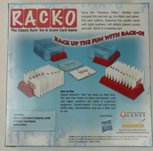 Rack O Classic Rack Em Score Card Game And 50 Similar Items