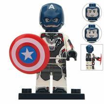 Captain America (Quantum Armor) Marvel Endgame Lego Minifigures Include shields - $2.99