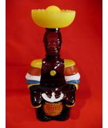 Vintage Old Oak Rum Limbo Drummer Decanter Rum Bottle Collector Souvenir  - $29.95