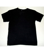 Arizona Casual Short Sleeve Shirt Black Boys Size 8 Small - $2.59