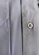 Berlioni Italy Men's Slim-Fit Premium Barrel Cuff Solid Lavender Dress Shirt - L image 4