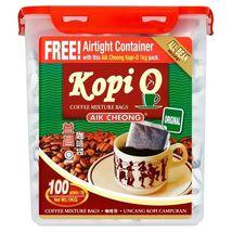 AIK CHEONG KOPI O ORIGINAL COFFEE MIXTURE BAGS 100 X 10G - $35.00