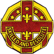 Army 12TH Medical Evacuation Hospital Vietnam Embroidered Patch - $16.24