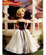 The Sophisticate Evening Dress fits Barbie Doll Annie's Crochet PATTERN ... - $3.12