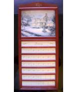 Thomas Kinkade Perpetual Calendar Cherry Frame - $34.99