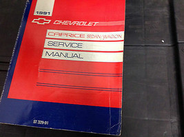 1991 Chevrolet CAPRICE SEDAN & WAGON Service Shop Repair Manual OEM FACT... - $14.84