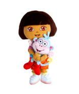 Universal Studios Dora Holding Boots Plush New with Tag - $44.05