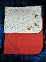 Gymboree How Does Your Garden Grow Strawberry Tomato Bunny Baby Blanket ... - $64.34