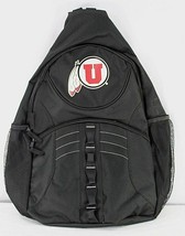 University of Utah Utes Swoop Sling Backpack Teardrop Black - $34.99