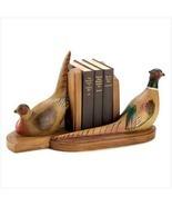 Rustic Pheasant Bookends - $30.00