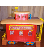 * 1984 Get Along Gang CLUBHOUSE CABOOSE Playset... - $40.00