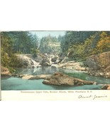 Ammonoosuc Upper Falls, Bretton Woods, White Mountains N.H early 1900s p... - $5.99