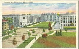 Harvard Medical School 1938 used Postcard  - $4.25