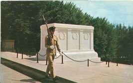 Tomb of the Unknown Soldier 1950s unused Postcard  - $3.99