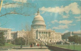 Washington DC, The Capitol 1966 used Postcard - $3.99