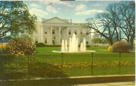Washington DC - The White House – 1950s unused Postcard  - $3.99