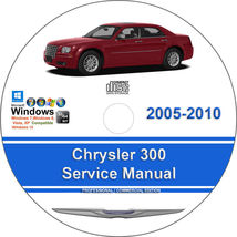 Chrysler 300 2005-2010 2.7L 3.0L 3.5L 5.7L 6.1L Factory Workshop Service Manual - $15.00