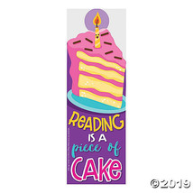 Cake-Scented Bookmarks - $7.11