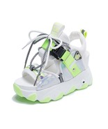 Women Chunky Platform Sandals Designers New Brand 2021 Summer Beach Casu... - $75.52