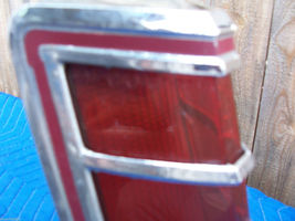 1977 MARK V RIGHT TAILLIGHT OEM USED ORIGINAL LINCOLN FORD PART 1979 SCRATCHES image 7