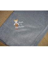 Personalized Girl Scout Scouting Camping  Fleece Blanket  50 x 60  - $32.99