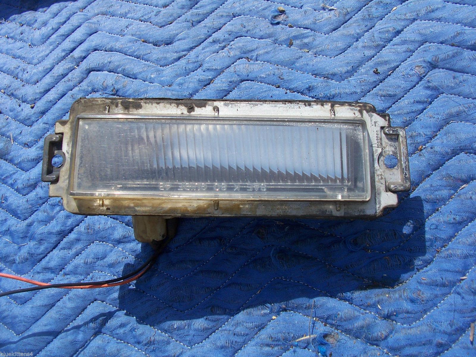 1985 ELECTRA  ESTATE WAGON  LEFT FRONT SIDE MARKER LIGHT OEM USED ORIG BUICK GM