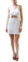 Free People Women's New Desert Dreamer Knit Mini Dress White RRP £73 BCF65 - $67.47