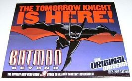 1999 Batman Beyond 22 by 17 DC Comics Universe Dark Knight promo poster 1:1990's - £32.15 GBP