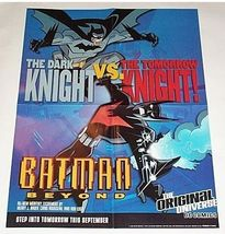 1999 Batman vs Batman Beyond 22 x 17 DC Comics Dark Knight promo poster 1:1990's - $40.00