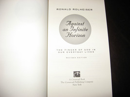AGAINST AN INFINITE HORIZON by RONALD ROLHEISER * BRAND NEW SOFTCOVER, UNREAD * image 3