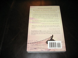 AGAINST AN INFINITE HORIZON by RONALD ROLHEISER * BRAND NEW SOFTCOVER, UNREAD * image 2