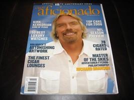 CIGAR AFICIONADO MAGAZINE * OCTOBER 2007 15th ANNIVERSARY ISSUE * NEW & CLEAN * image 1