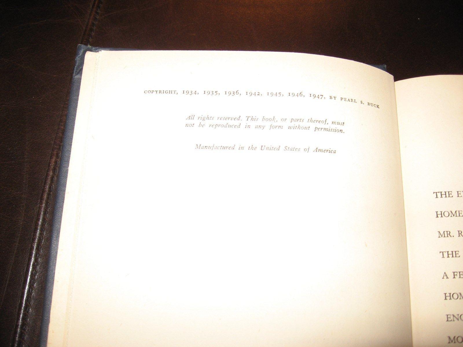 FAR AND NEAR * PEARL S. BUCK * 1947 HARDCOVER * VERY GOOD * JAPAN CHINA AMERICA image 6