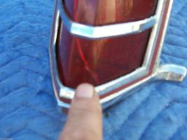 1978 MARK V LEFT CRACKED TAILLIGHT OEM USED ORIGINAL LINCOLN FORD PART 1979 1977 image 2