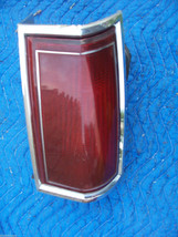 1986 TOWNCAR RIGHT TAILLIGHT OEM USED ORIGINAL LINCOLN FORD PART # image 1