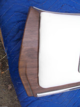 1975 SEDAN DEVILLE LEFT REAR DOOR PANEL UPPER HAS WEAR OEM USED CADILLAC image 4