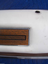 1975 SEDAN DEVILLE LEFT REAR DOOR PANEL UPPER HAS WEAR OEM USED CADILLAC image 8
