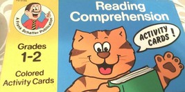 Frank Schaffer Productions Reading Comprehension Activity Cards Grades 1-2 - $9.90