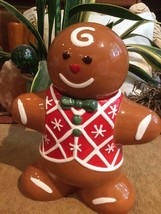 Harry and David GingerBread Man Cookie Jar-2009 - $39.99