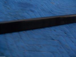 BLACK LEFT DOOR TRIM MOLDING  2000 2001 DEVILLE DHS DTS OEM USED ORIG GM PART image 4
