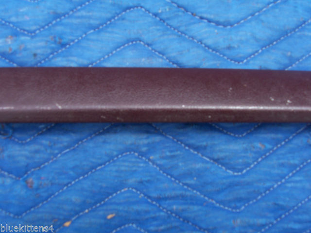1977 COUPE DEVILLE LEFT DOOR ROOF TOP EXTENSION TRIM MOLDING OEM USED CADILLAC image 3