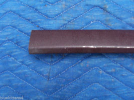 1977 COUPE DEVILLE LEFT DOOR ROOF TOP EXTENSION TRIM MOLDING OEM USED CADILLAC image 2