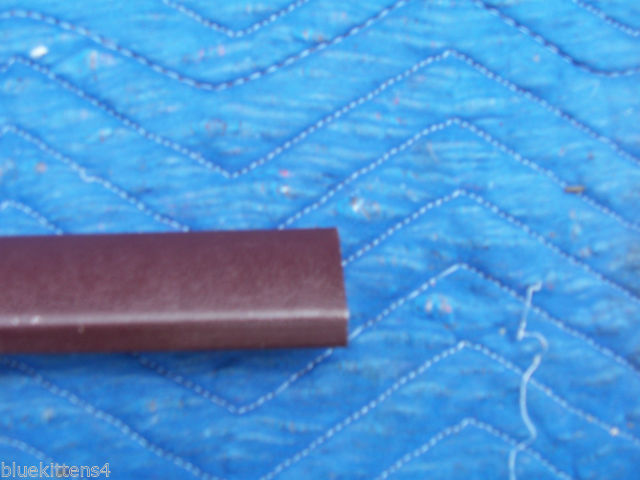 1977 COUPE DEVILLE LEFT DOOR ROOF TOP EXTENSION TRIM MOLDING OEM USED CADILLAC image 6